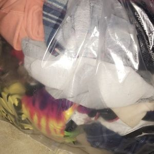 Bag of name brand clothes